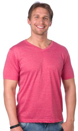 Brave Soul pánské tričko Saint L červená