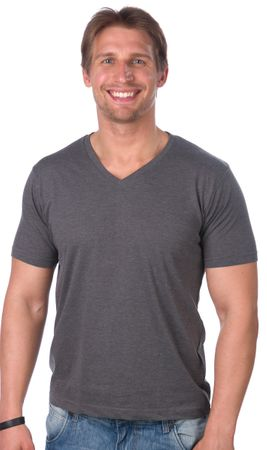Brave Soul muška majica Saint XL siva