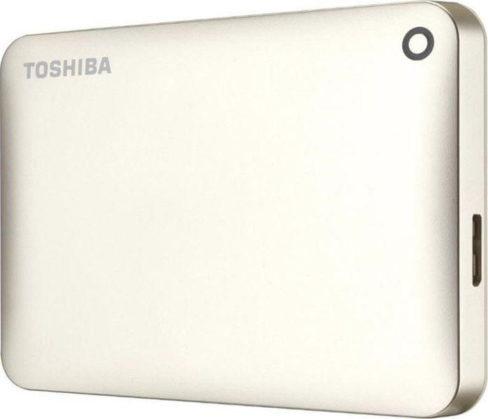 "TOSHIBA Canvio Connect II 3TB / Externí / USB 3.0 / 2,5"" / Gold (HDTC830EC3CA)"