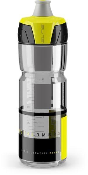 Elite Crystal Ombra 750ml kouřová/žlutá