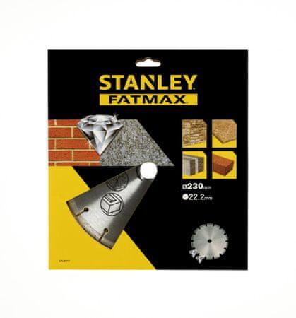 Stanley Gyémánt vágókorong, 230 x 22.2 mm