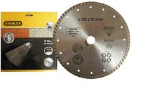Stanley Diamantový kotouč TURBO na žulu/cihly 230x22,2mm
