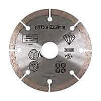 Stanley Diamantový kotúč segmentový na kameň 115 × 22,2 mm(STA38162-XJ)