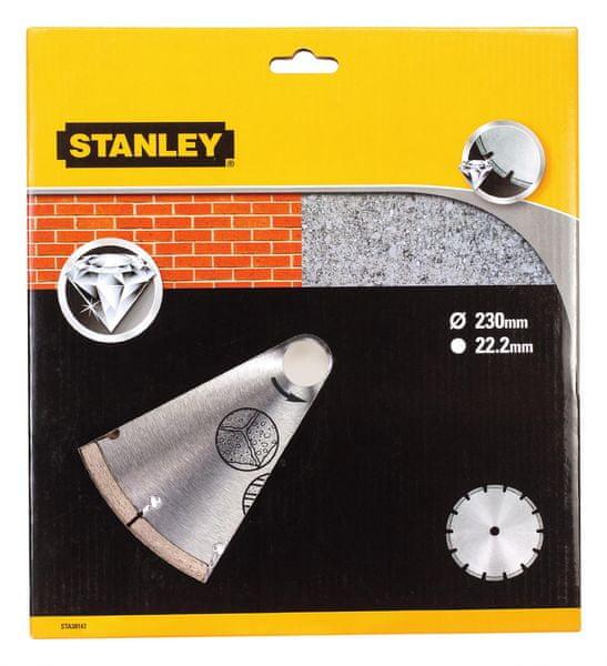 Stanley Diamantový kotouč segmentový na beton/cihly 230x22,2mm