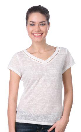 Brave Soul ženska majica Racerr XS smetane