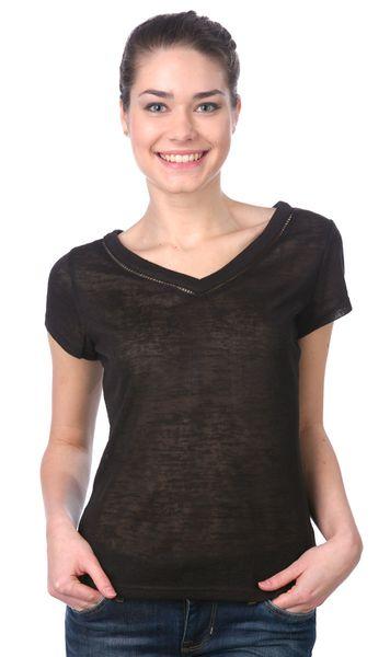 Brave Soul dámské tričko Racerr M černá