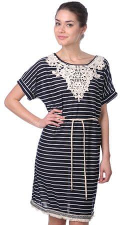 Brave Soul dámské šaty Blyther S tmavě modrá - Alternativy  b575e4c32a5