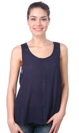 Brave Soul koszulka bez rękawów damska Poppinsr S ciemnoniebieski
