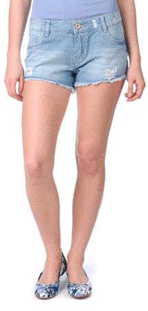 Brave Soul ženske kratke hlače Minogue S modra