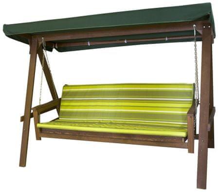 Rojaplast vrtna gugalnica Adelaida, zelena (59059) - odprta embalaža