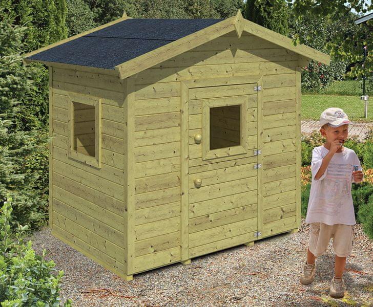 Vladeko Dětský domek Pippi 140x100cm