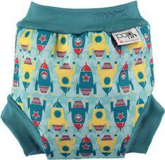 08833edad16 Bambinomio Kojenecké plavky Blue Squid