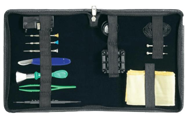 Toolcraft Sada profesionálního hodinářského nářadí, 114 ks (820922)