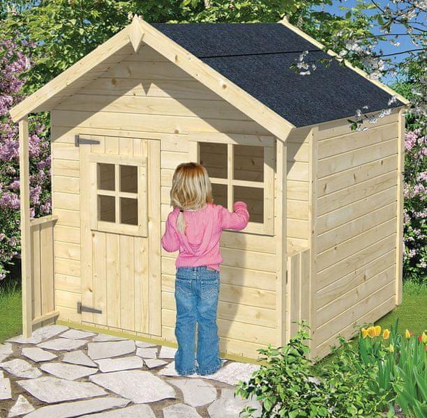 Vladeko Dětský domek Snow White 149x149cm
