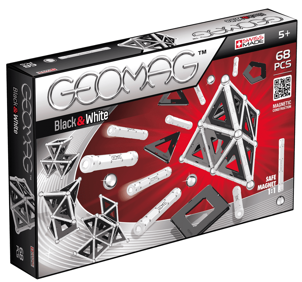 Geomag Black & White 68 pcs