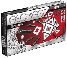 Geomag Black & White 104 pcs