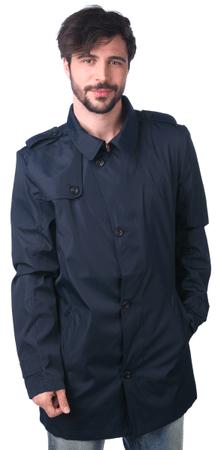 Brave Soul moški plašč Bruce XL temno modra