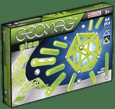 Geomag Foszforeszkáló Mágneses építőjáték, 64 db