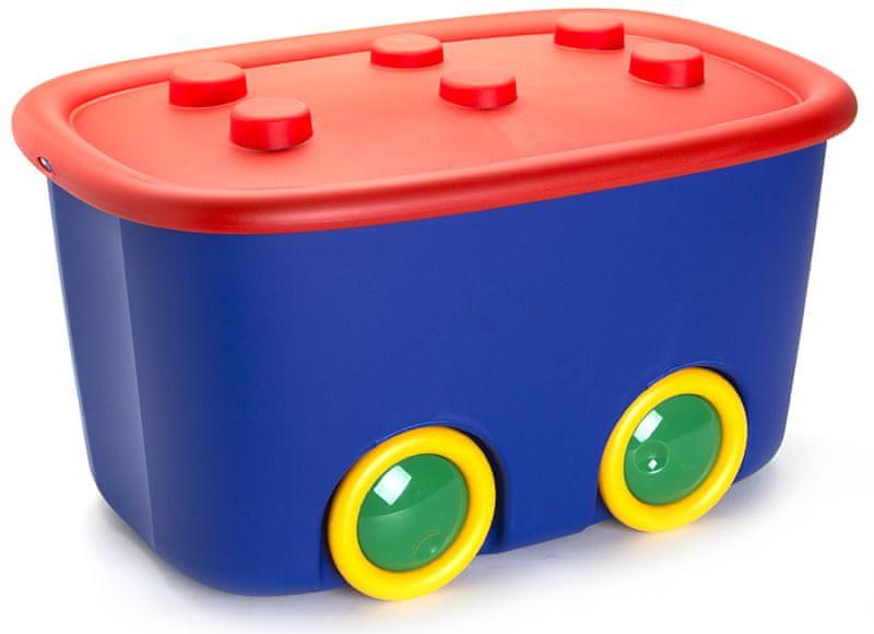 Kis Funny box 46 l červená
