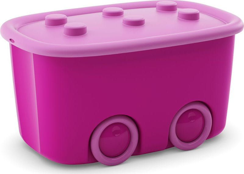 Kis Funny box 46 l růžová