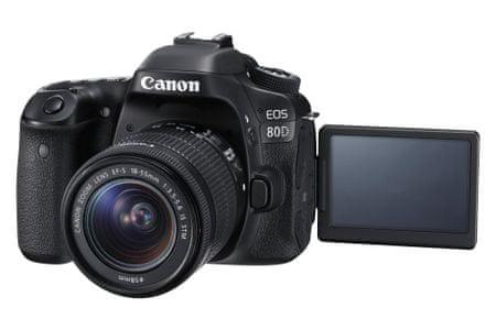 Canon fotoaparat EOS 80D, ohišje