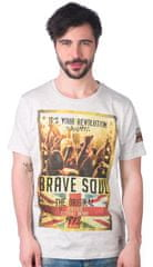 Brave Soul férfi póló Spirit