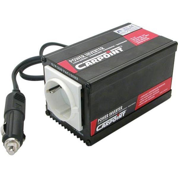 CarPoint Měnič napětí 12V na 230V 50Hz 150W