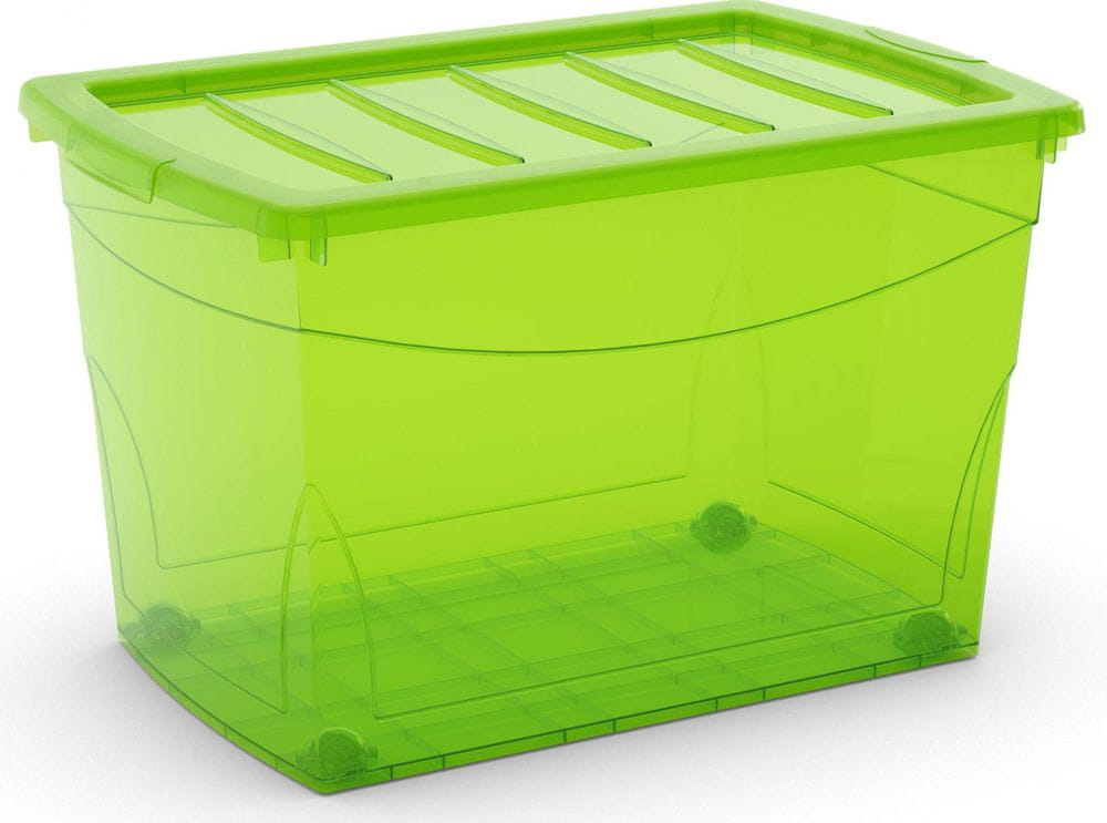 Kis Omni box s kolečky 60 l zelená