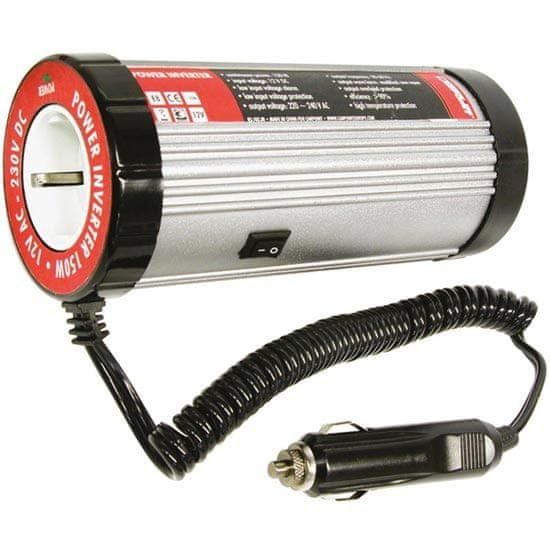 CarPoint Měnič napětí 12 V - 230 V 50 Hz 150 W (0510330)