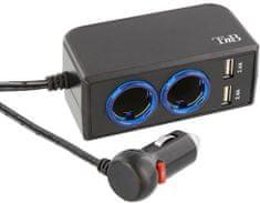 TNB Univerzální adaptér s konektorem 2 x CL, 2 x USB