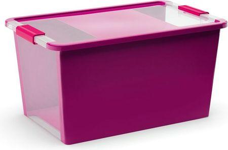 Kis škatla za shranjevanje Bi-box, 40 l, vijolična