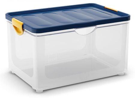 Kis škatla za shranjevanje Clipper Box, 58,4 l, modra