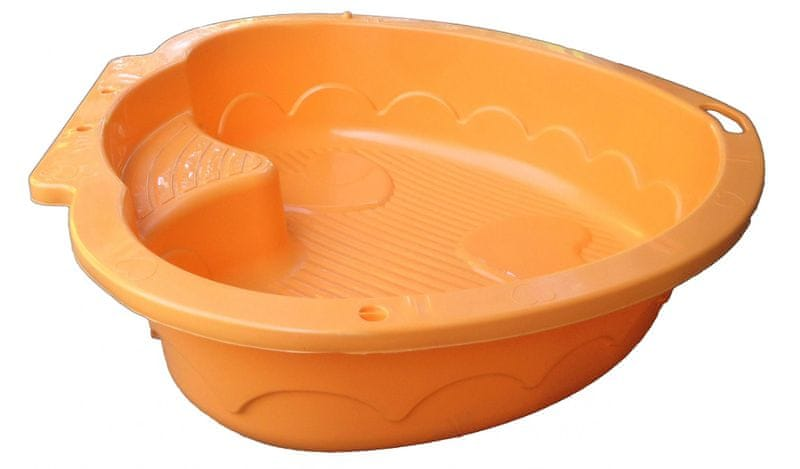 Marian Plast Pískoviště-bazének srdce oranžová