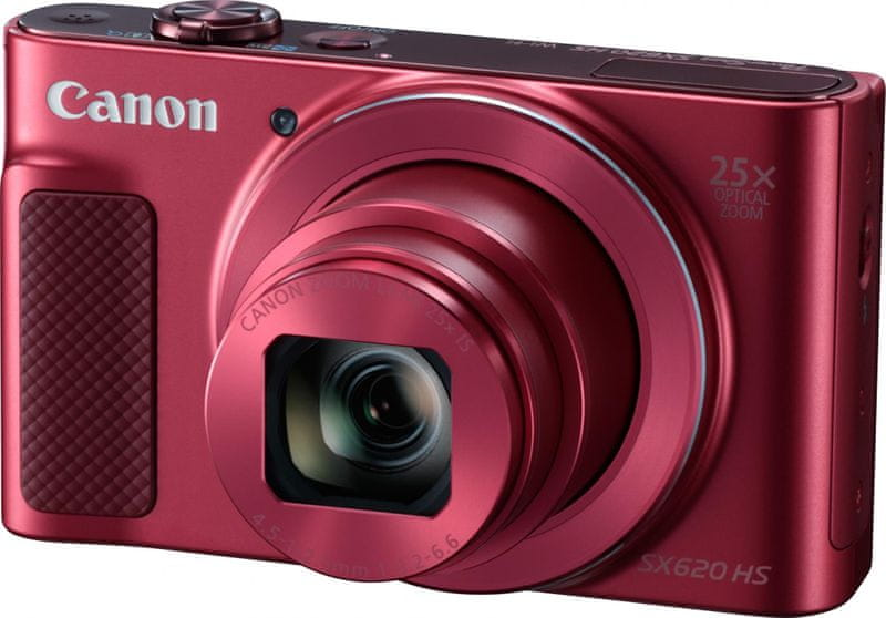 Canon PowerShot SX620 HS Essential Kit Red