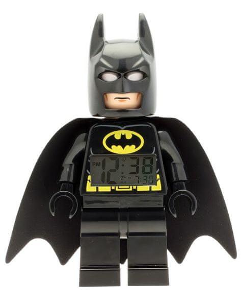 LEGO® DC Super Heroes Batman - hodiny s budíkem