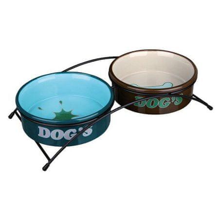 Trixie Ceramiczne miski dla psa 2 x 0,5l / 15cm