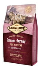 Carnilove Salmon & Turkey for Kittens – Healthy Growth 2 kg