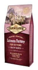 Carnilove Salmon & Turkey for Kittens – Healthy Growth 6 kg