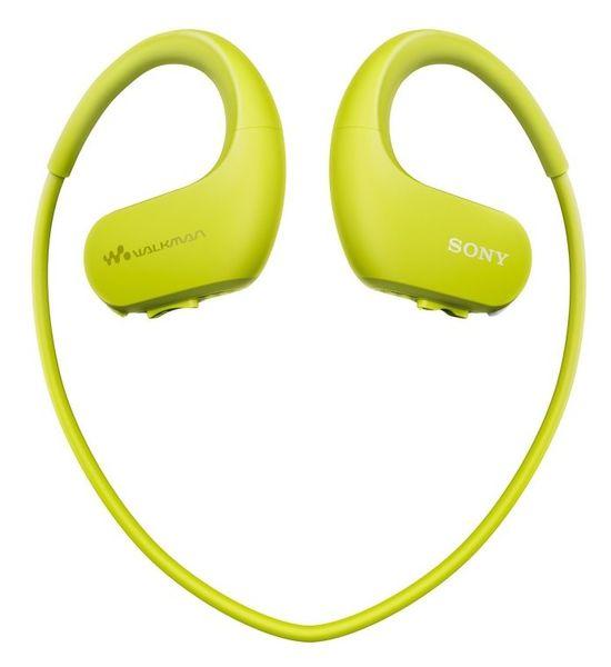 Sony NW-WS413G / 4GB, světle zelená