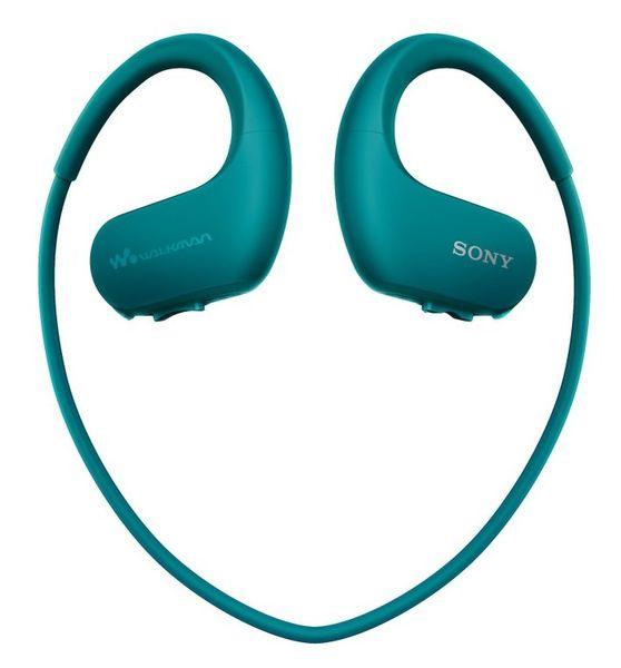 Sony NW-WS413L / 4GB, modrá
