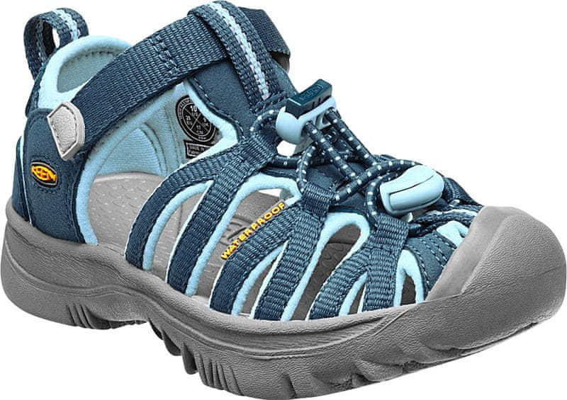 KEEN Whisper K Indian Teal/Corydalis Blue US 12 (30 EU)