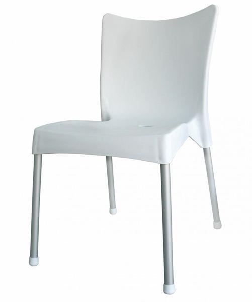 MEGA PLAST MP464 VITA (AL nohy) židle, 82,5x48x55 bílá