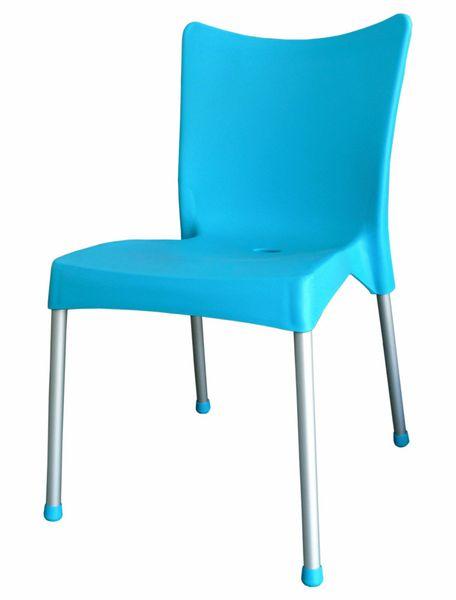 MEGA PLAST MP464 VITA (AL nohy) židle, 82,5x48x55 tyrkysová