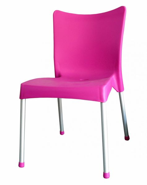 MEGA PLAST MP464 VITA (AL nohy) židle, 82,5x48x55 růžová