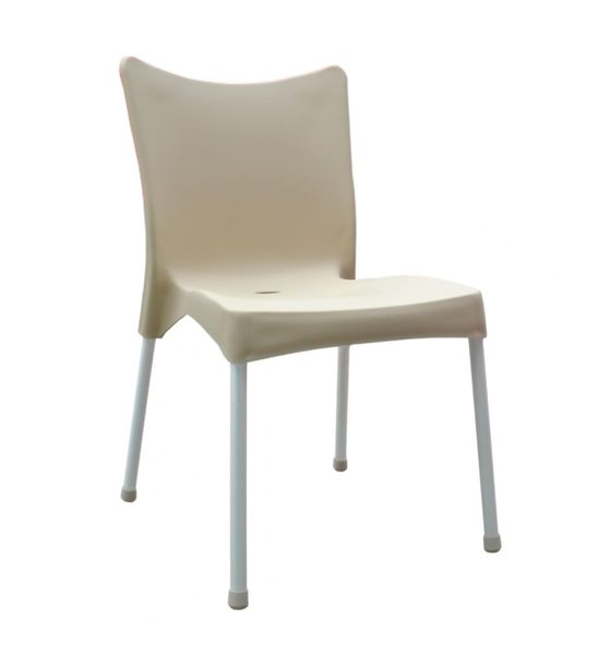 MEGA PLAST MP464 VITA (AL nohy) židle, 82,5x48x55 krémová