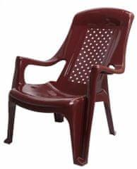 MEGA PLAST MP661 CLUB židle, 81x60x80, stohovovatelná, PP