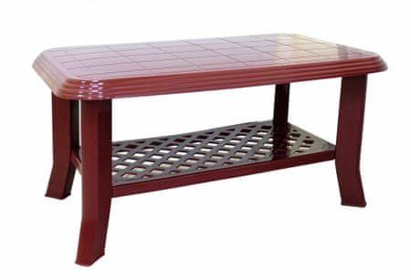 MEGA PLAST MP660 CLUB stůl 44x55x90cm, PP červená
