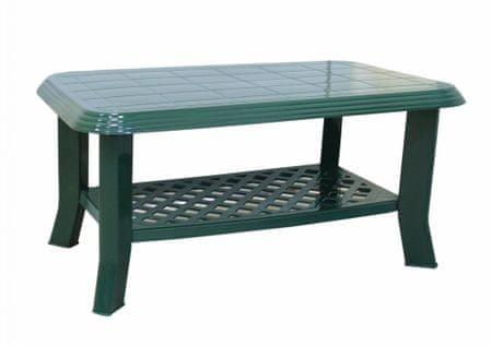 MEGA PLAST MP660 CLUB stůl 44x55x90cm, PP tmavě zelená