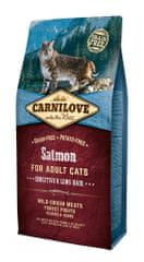 Carnilove sucha karma dla kota Salmon for Adult Cats – Sensitive & Long Hair 6 kg