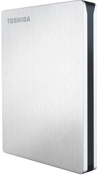 "TOSHIBA Canvio Slim 1TB / Externí / USB 3.0 / 2,5"" / Silver (HDTD210ES3EA)"